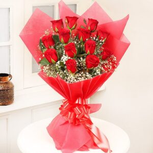 Exotic Red Rose(16) Bouquet
