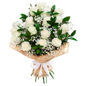Peaceful White Roses(16) Bouquet