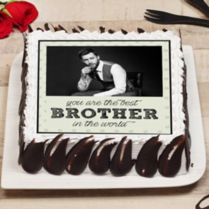 Brother Photo Cake