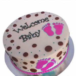 Welcome lil Foot Cake